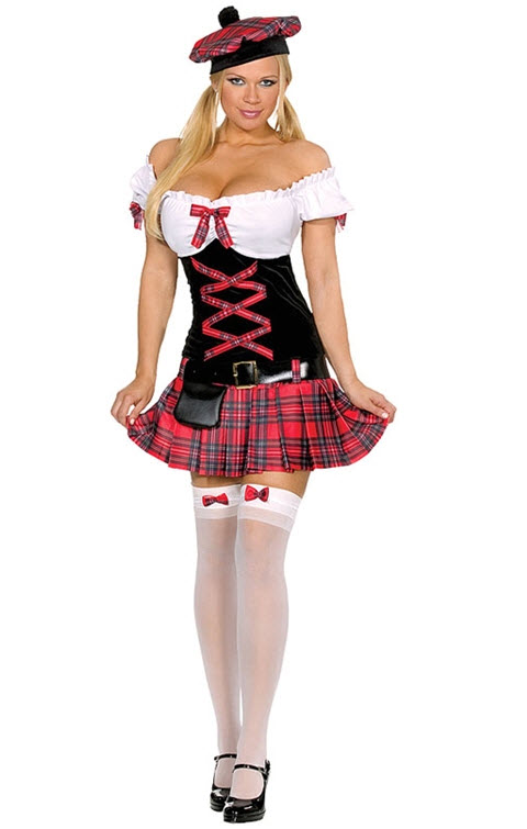 Scottish Girl Costume
