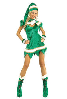 Green Elf Costume