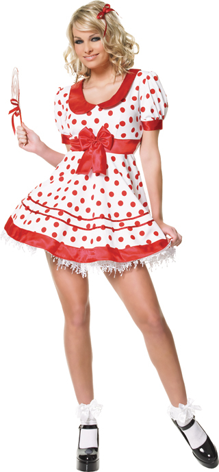 Lollipop Girl Adult Costume