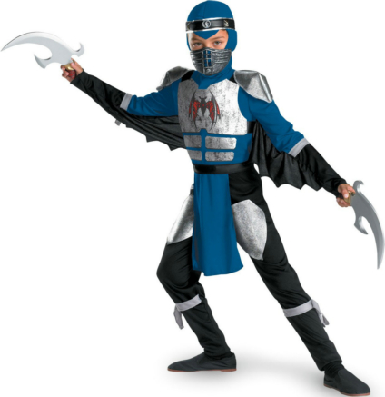 Shadow Ninjas Night Deluxe Child Costume