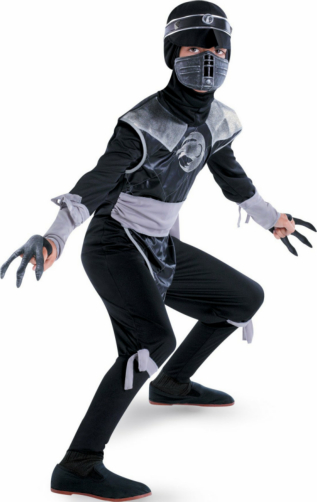Shadow Ninjas Dark Raven Deluxe Child Costume