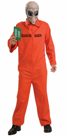 Illegal Alien Adult Costume