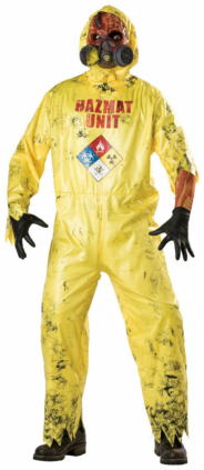 Hazmat Adult Costume