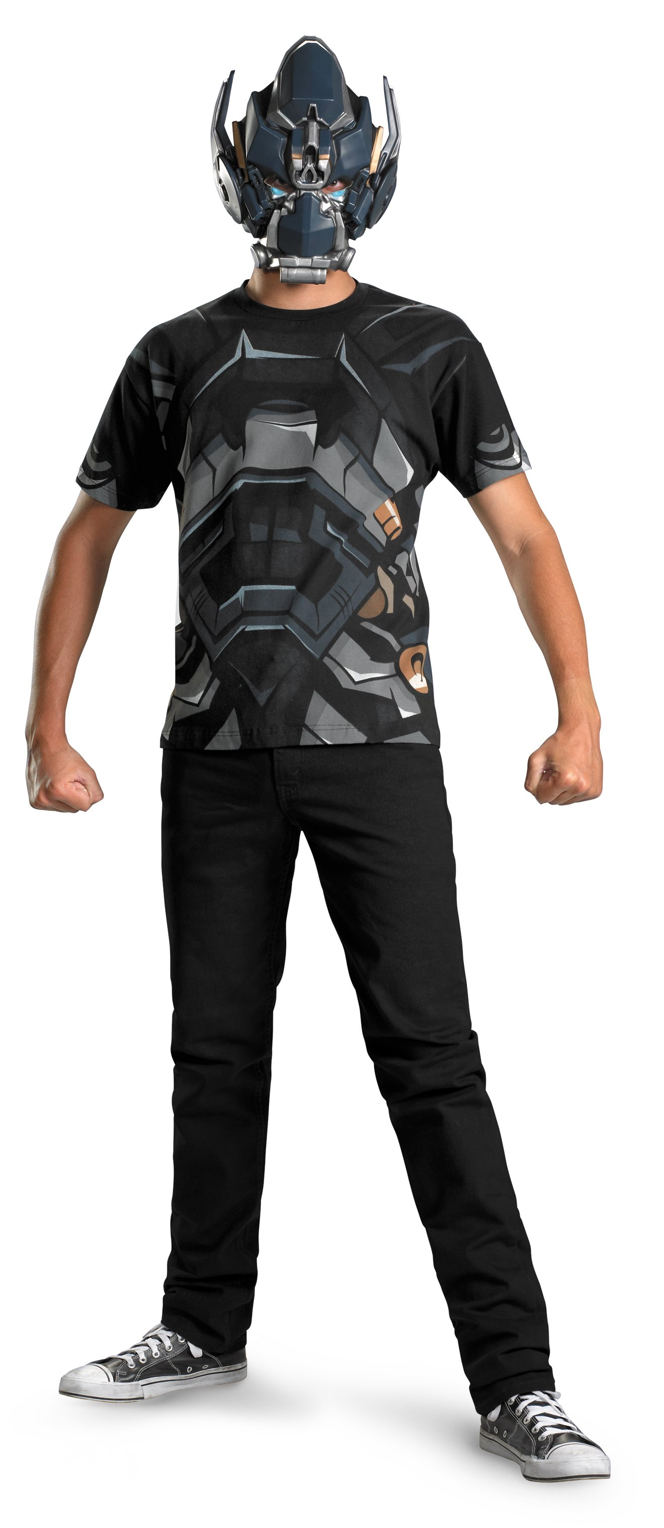 Transformers 3 Dark Of The Moon Movie - Iron Hide T-Shirt And Ma