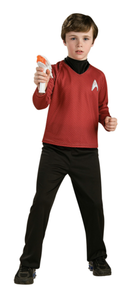 Star Trek Movie Deluxe (Red) Shirt Child Costume