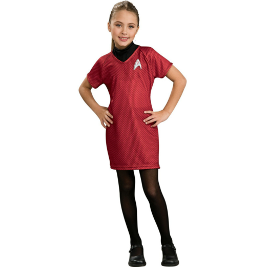 Star Trek Movie Deluxe (Red) Dress Child Costume
