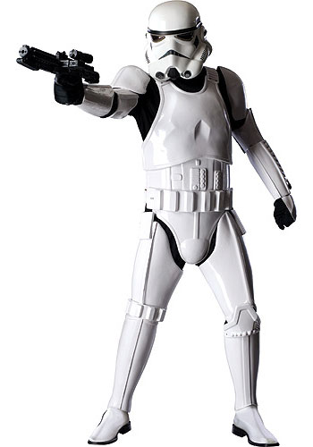 Stormtrooper Authentic Costume - Click Image to Close