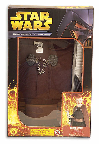 Child Count Dooku Costume Box Set