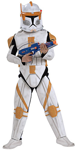 Kids Deluxe Clone Trooper Commander Cody