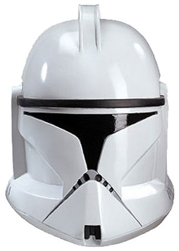 Clone Trooper 2-Piece Adult Helmet