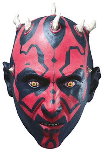 3/4 Vinyl Darth Maul Mask