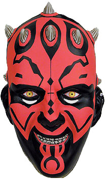 Kids Darth Maul PVC Mask