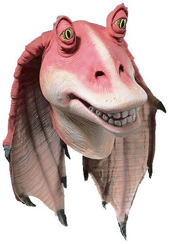 Deluxe Jar Jar Binks Latex Mask