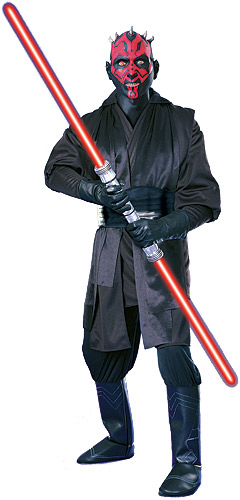 Super Deluxe Adult Darth Maul Costume