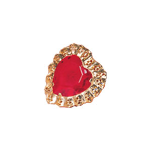 Queen of Hearts Heart Ring