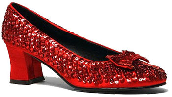 Adult Ruby Red Shoes