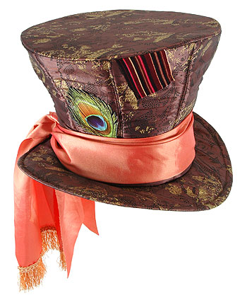 Kids Deluxe Mad Hatter Hat