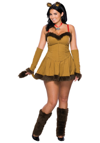 Plus Size Sexy Lion Costume