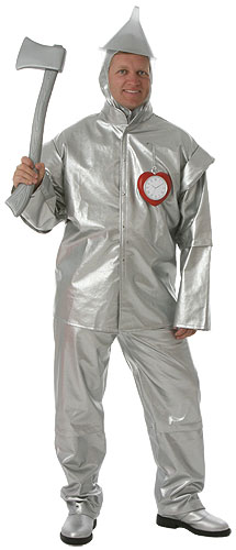 Adult Deluxe Tin Man Costume