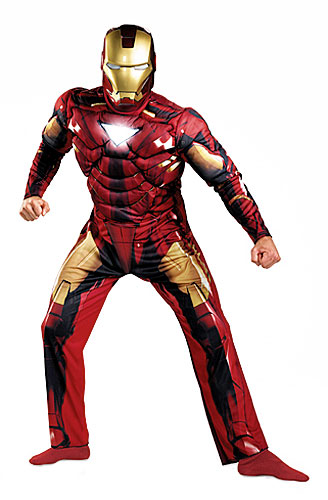 Adult Deluxe Iron Man Mark 6 Costume