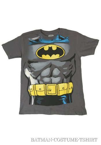 Mens Batman Costume T-Shirt