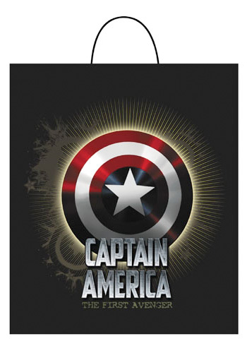 Captain America Treat Bag