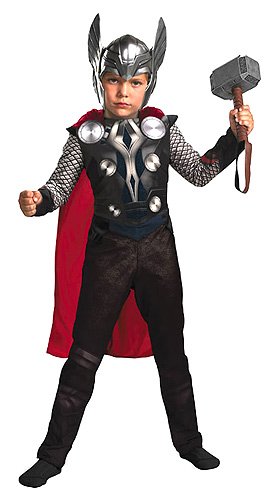 Child Thor Movie Costume