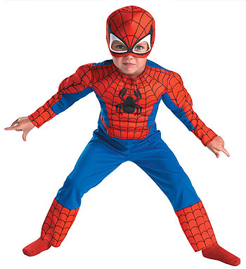 Deluxe Toddler Spiderman Costume
