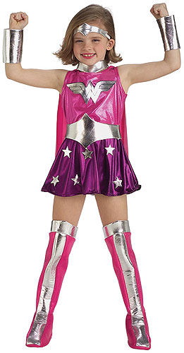 Toddler Pink Wonder Woman Costume