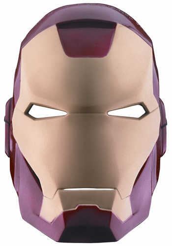 Vacuform Iron Man Mask