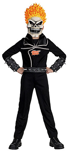 Kids Ghostrider Costume