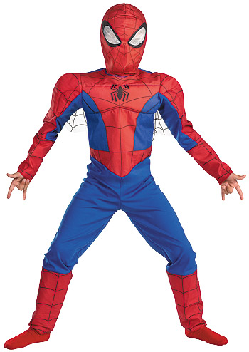 Kids Deluxe Spectacular Spiderman Costume