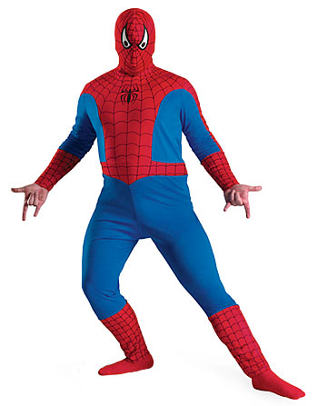 Plus Size Spiderman Costume