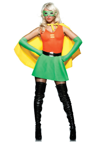Sexy Side Kick Superhero Costume