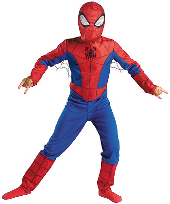 Kids Spectacular Spiderman Costume