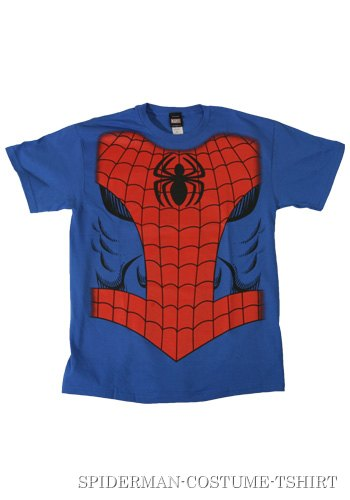 Mens Spiderman Costume T-Shirt