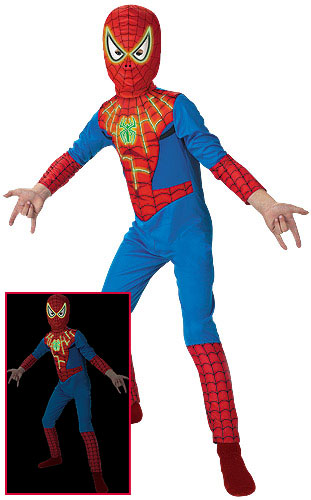 Spiderman Costume Child - Glow-in-the-Dark