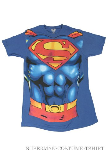 Mens Superman Costume T-Shirt