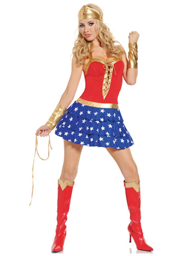 Wonderlicious Woman Costume