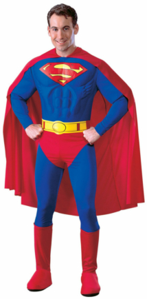 Superman Deluxe Adult Costume