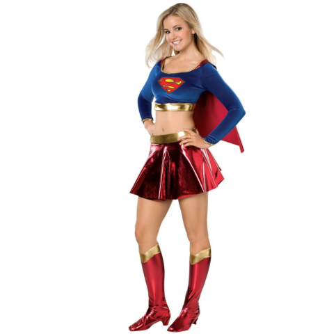DC Comics Supergirl Teen Costume