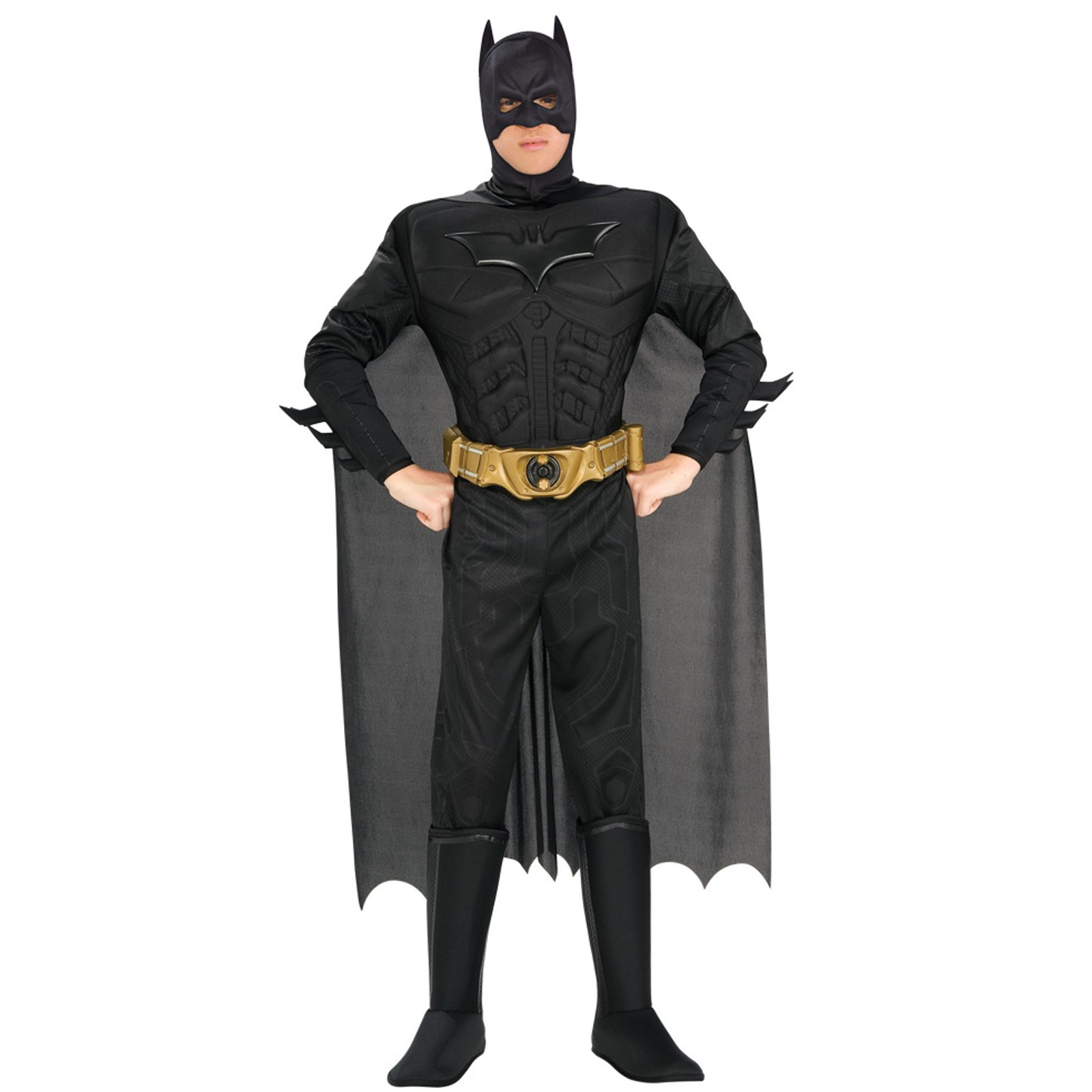 Batman Dark Knight Deluxe Muscle Chest Batman Adult Costume