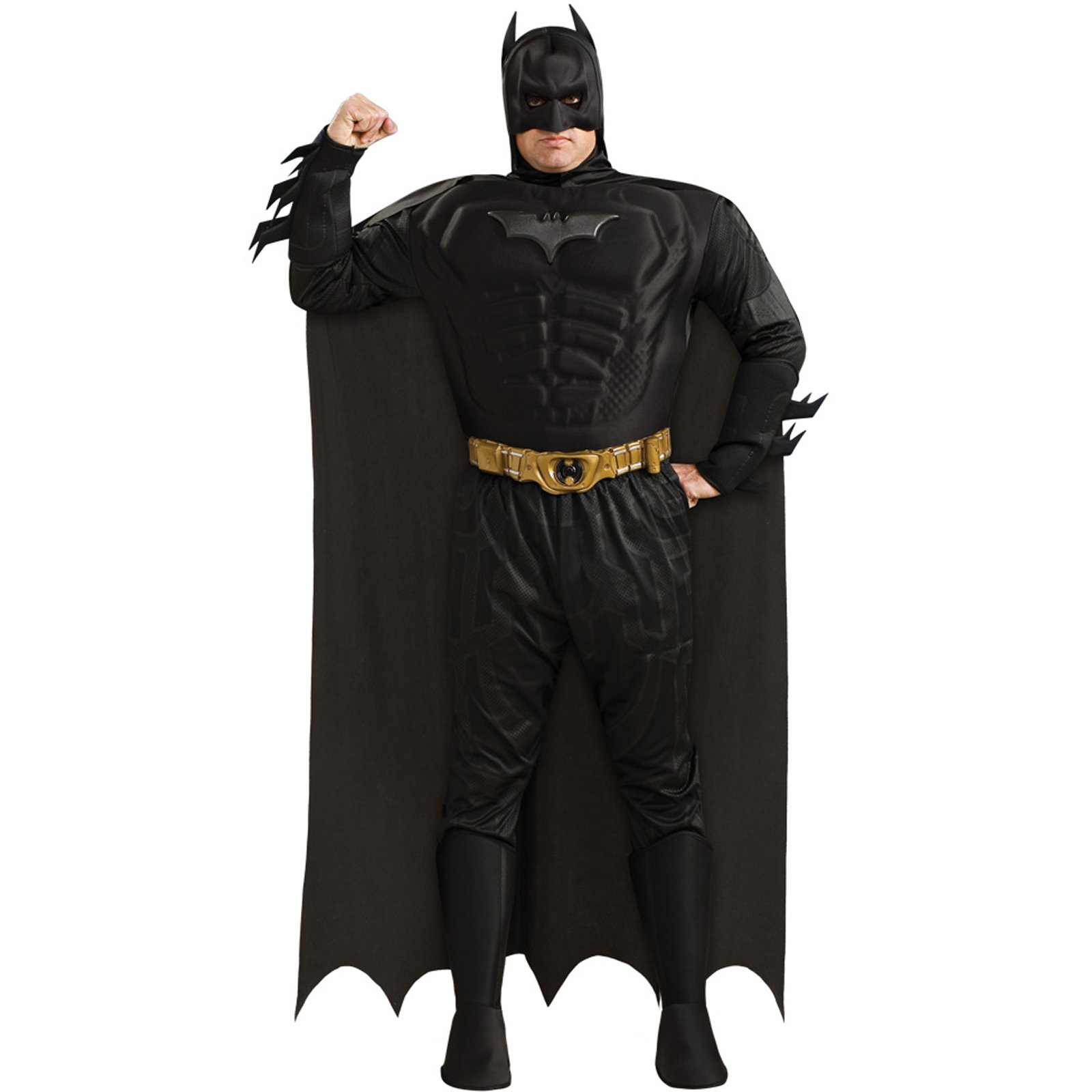 Batman Dark Knight - Batman Muscle Chest Deluxe Adult Plus Costu