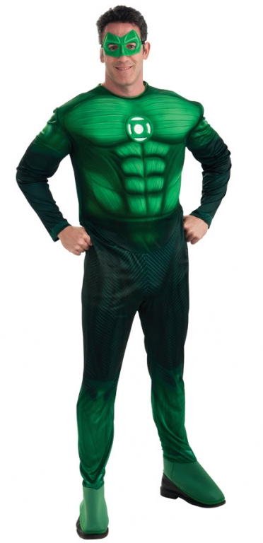 Muscled Hal Jordan Costume