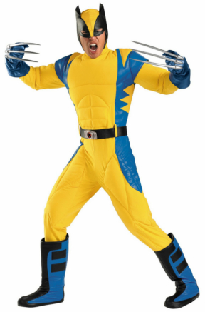 Wolverine Origins Adult Costume