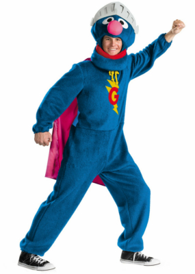 Super Grover Adult Costume