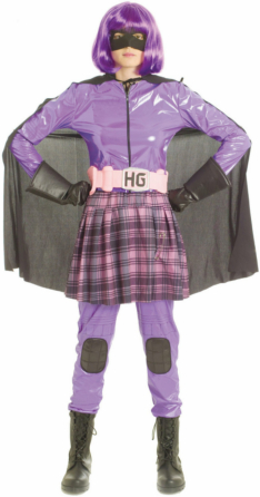 Kick-Ass Movie - Hit-Girl Deluxe Adult Costume