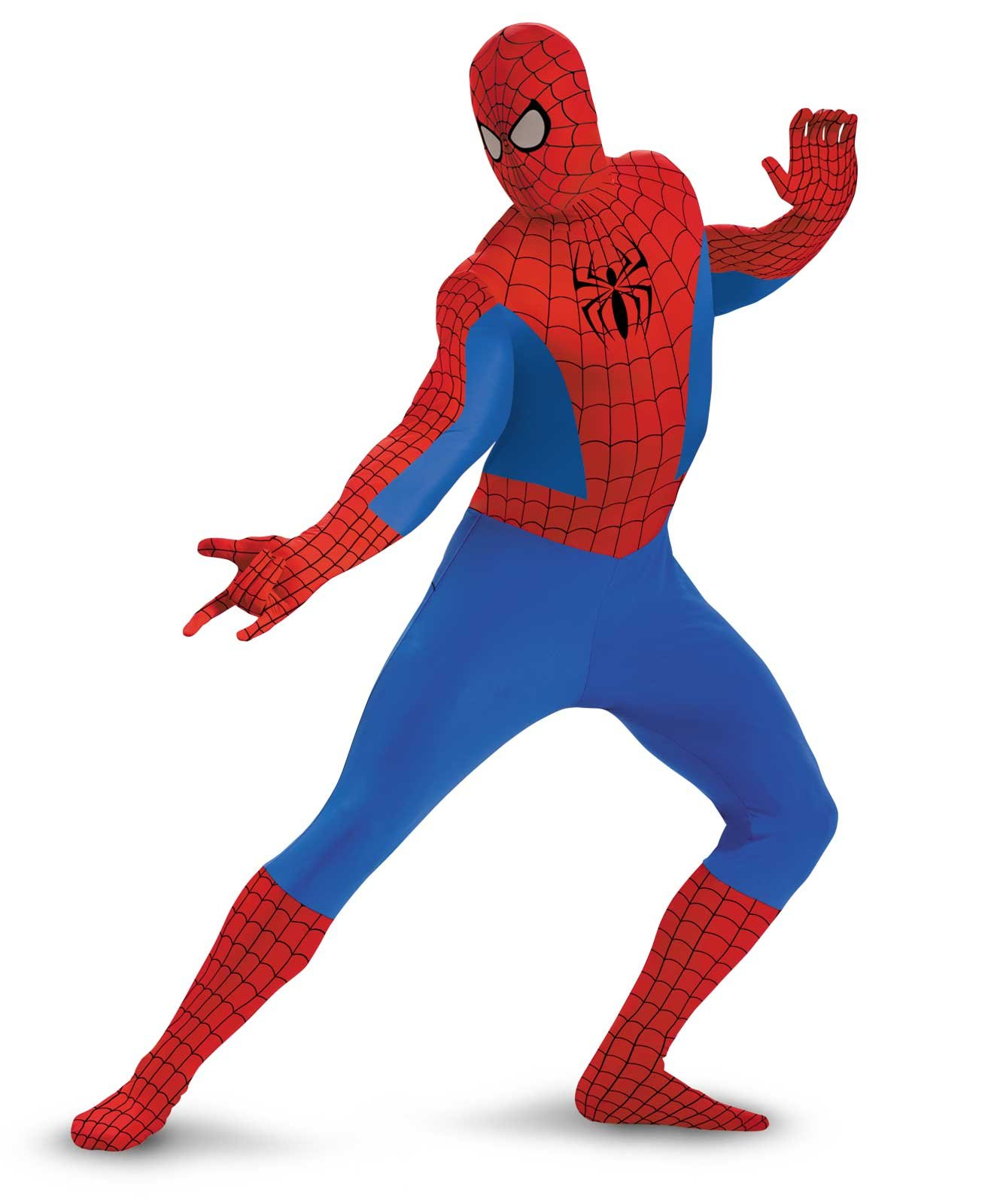 Spider-man Bodysuit Adult Plus Costume