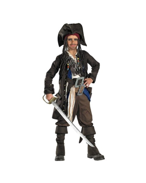 Captain Jack Sparrow Costume for Teen