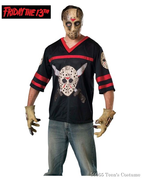 *jason Hockey Jersey And Eva Mask Teen